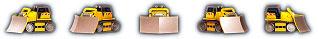 Junkyard hazzle bulldozer
