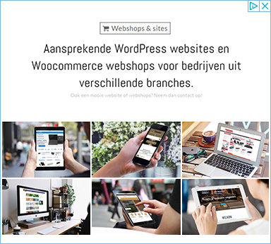 Webshops & Sites - Wordpress Websites en Woocommerce Webshops